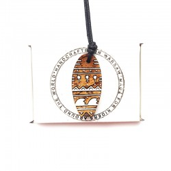 Necklace SURFBOARD NATURAL GEO