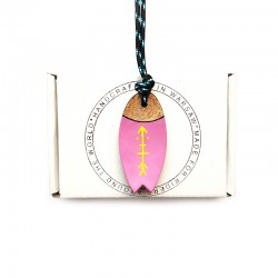 Necklace SURFBOARD ARROW PINK