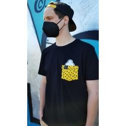 T-shirt EL COCO jungle pocket